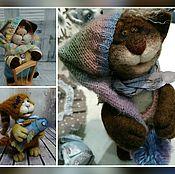 Куклы и игрушки ручной работы. Ярмарка Мастеров - ручная работа Коты в колпаках. Handmade.