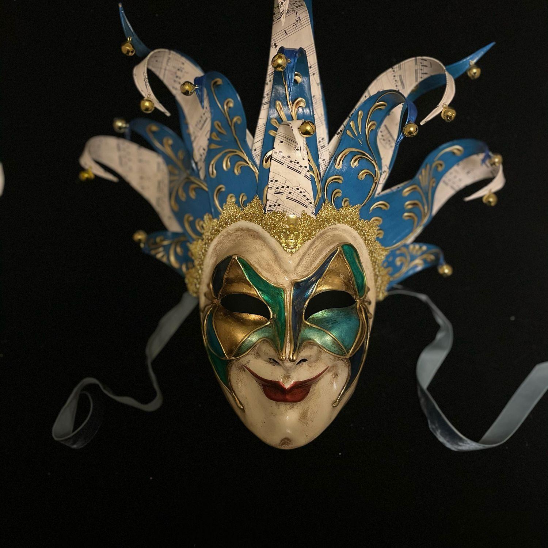 Boris Brejcha mask, Interior masks, Moscow,  Фото №1