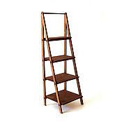 Мебель для кукол ручной работы. Ярмарка Мастеров - ручная работа Стеллаж-лестница для кукол формата 1:6 (YoSD). Handmade.