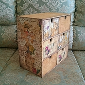 Для дома и интерьера ручной работы. Ярмарка Мастеров - ручная работа Мини комод. Handmade.