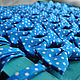 Order Tie Freeman / blue bow tie polka dot. Respect Accessories. Livemaster. . Ties Фото №3