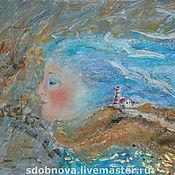 """Картины и панно ручной работы. Ярмарка Мастеров - ручная работа картина""""Настроение с привкусом морского ветра"""". Handmade."""