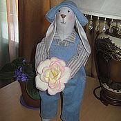Куклы и игрушки ручной работы. Ярмарка Мастеров - ручная работа заяц Данилка. Handmade.