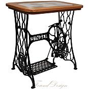 Для дома и интерьера ручной работы. Ярмарка Мастеров - ручная работа Винтажный столик на станине Singer. Handmade.