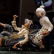 """Куклы и игрушки ручной работы. Ярмарка Мастеров - ручная работа """"На даче всЁ иначе....)))))"""". Handmade."""