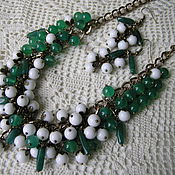 Украшения handmade. Livemaster - original item set necklace earrings