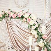Свадебный салон ручной работы. Ярмарка Мастеров - ручная работа Свадьба в пудровых оттенках. Handmade.