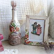 Сувениры и подарки ручной работы. Ярмарка Мастеров - ручная работа Подарок подруге Ретро розы. Handmade.