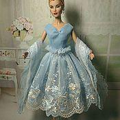 Одежда для кукол ручной работы. Ярмарка Мастеров - ручная работа Одежда для Барби. Платье из кружева.. Handmade.