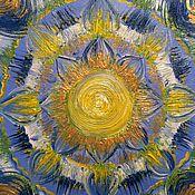 Фен-шуй и эзотерика handmade. Livemaster - original item Mandala RELAXATION, LEISURE 30h30 Nominal. Handmade.