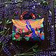Женские сумки ручной работы. Райская птица. KURGUZOVA мастерская сумок. Ярмарка Мастеров. Сумка из натуральной кожи, сумка с птицами