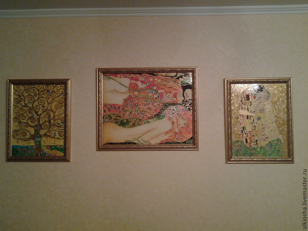 по мотивам картин Климпта, Картины, Самара,  Фото №1