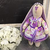 Куклы и игрушки ручной работы. Ярмарка Мастеров - ручная работа Зайка Лилак. Handmade.
