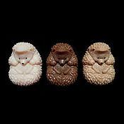 Мыло ручной работы. Ярмарка Мастеров - ручная работа Ежик, сувенирное мыло. Handmade.