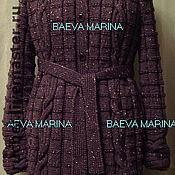 """Одежда ручной работы. Ярмарка Мастеров - ручная работа Пальто с капюшоном """"Lilac"""". Handmade."""