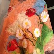 """Аксессуары ручной работы. Ярмарка Мастеров - ручная работа Палантин """"РОМАШКИ """". Handmade."""