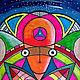 Медитация ручной работы. Ярмарка Мастеров - ручная работа. Купить Мандала 'Братья по Разуму'. Handmade. Мандала, рисунок, ручки гелевые