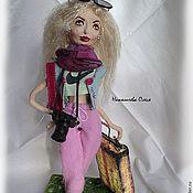 Куклы и игрушки ручной работы. Ярмарка Мастеров - ручная работа авторская кукла Юлия. Handmade.