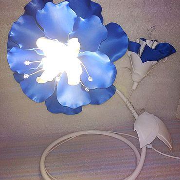Цветы и флористика. Ярмарка Мастеров - ручная работа Сине-белая фуксия. Handmade.
