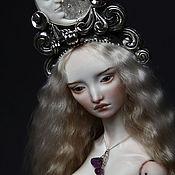 Куклы и игрушки ручной работы. Ярмарка Мастеров - ручная работа Luna. Шарнирная кукла.. Handmade.