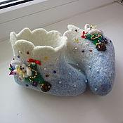 Работы для детей, handmade. Livemaster - original item Boots