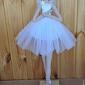 Куклы и игрушки handmade. Livemaster - original item Ballerina in the style of the Tilde. Handmade.