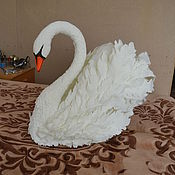 Свадебный салон ручной работы. Ярмарка Мастеров - ручная работа Свадебные Лебеди. Handmade.