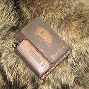 Сумки и аксессуары handmade. Livemaster - original item Cigarette case (sigaretta). Commissioner Cattani. Octopus. Handmade.