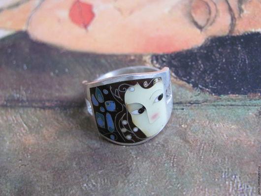 """Кольца ручной работы. Ярмарка Мастеров - ручная работа. Купить кольцо """"Импровизация"""". Handmade. Кольцо, вахтанг джаниашвили, эмаль, подарок"""