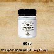 Материалы для творчества handmade. Livemaster - original item cracking varnish is a one-step design tury q-1 60 g. Handmade.