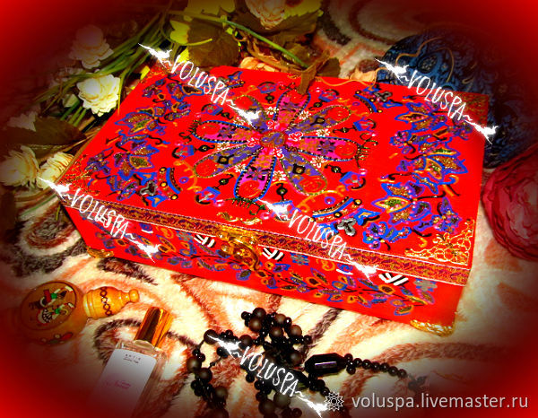 'The Red Queen.Charms of Lemuria', women's box, VIP, Casket, Sochi,  Фото №1