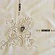 Винтажные предметы интерьера. Заказать Винтажная скатерть с вышивкой ришелье и гладью, Германия. Натуральный винтаж. Ярмарка Мастеров. Старинная скатерть