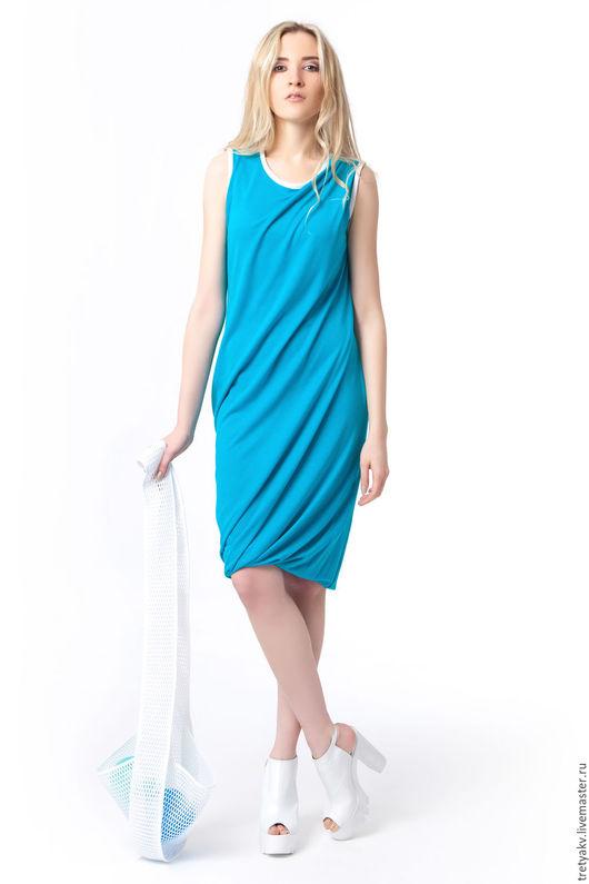 платье свободное  платье сшитое платье повседневное платье пляжное платья в офис платье джерси платье шитое платье женское платье лето платье летнее платье офисное платье до колен платье по колено