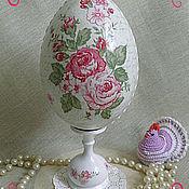 Подарки к праздникам ручной работы. Ярмарка Мастеров - ручная работа Большое пасхальное яйцо. Handmade.