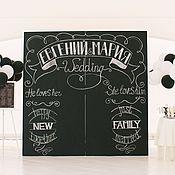 Свадебный салон ручной работы. Ярмарка Мастеров - ручная работа Аренда меловой доски. Handmade.