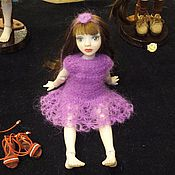 Куклы и игрушки ручной работы. Ярмарка Мастеров - ручная работа платье для кукол. Handmade.