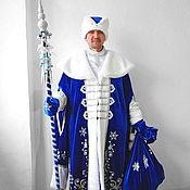 Одежда handmade. Livemaster - original item Father Frost (Santa Claus). Animator-actor suit. Handmade.
