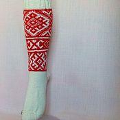 Shoes handmade. Livemaster - original item Socks with Slavic ornament. Handmade.