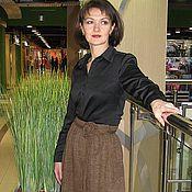 """Одежда ручной работы. Ярмарка Мастеров - ручная работа Вязанная юбка """"Жаклин"""". Handmade."""