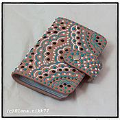 Сумки и аксессуары handmade. Livemaster - original item Holder for plastic cards of the