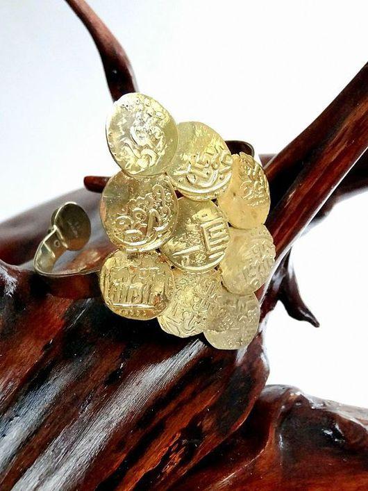 Браслеты ручной работы. Ярмарка Мастеров - ручная работа. Купить Браслет из старинных монет. Handmade. Золотой, старинные монеты, серебро