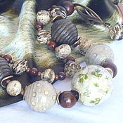 """Украшения ручной работы. Ярмарка Мастеров - ручная работа Колье """"Зачарованный лес"""". Handmade."""