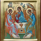 Картины и панно handmade. Livemaster - original item The Holy Trinity.( The Rublev Icon ). Handmade.