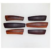 Украшения handmade. Livemaster - original item Hair pins made of wood. Handmade.