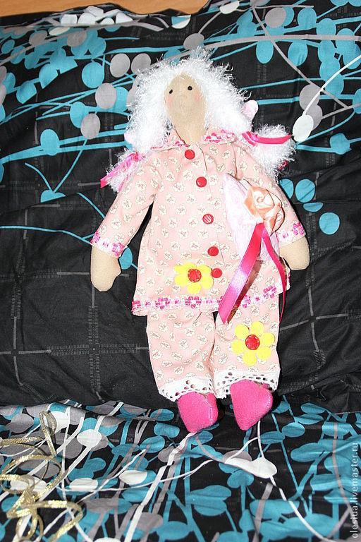 Куклы Тильды ручной работы. Ярмарка Мастеров - ручная работа. Купить тильда сплюшка. Handmade. Сплюшка, тильда, текстильные куклы