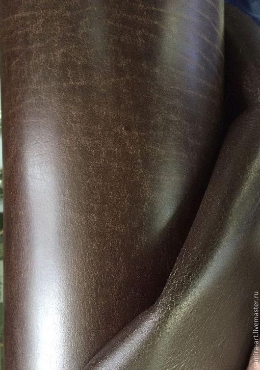 Шитье ручной работы. Ярмарка Мастеров - ручная работа. Купить Чепрак (Прибалтика) коричневый. Handmade. Чепрак, кожа натуральная