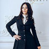 Одежда handmade. Livemaster - original item The last Coat is black