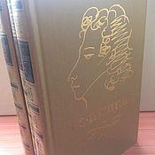 Винтаж ручной работы. Ярмарка Мастеров - ручная работа А. С. Пушкин в трёх томах 1974. Handmade.