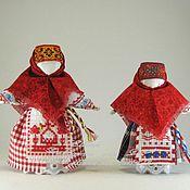Куклы и игрушки ручной работы. Ярмарка Мастеров - ручная работа Кукла-оберег Берегиня маленькая (по мотивам народной). Handmade.