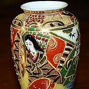 Винтаж handmade. Livemaster - original item Vintage, decorative vases, hand painted, Imari, Japan. Handmade.